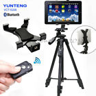 YUNTENG Tripod+Bluetooth Remote+Tablet Phone Holder for i Pad 2 3 4/Mini 4/Air 2