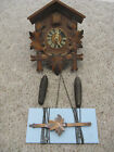 VINTAGE GERMAN CUCKOO CLOCK FOR REPAIR OR  PARTS
