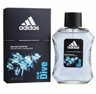 Adidas Ice Dive Cologne for Men 3.4 oz EDT Spray New in Box