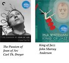 The Passion of Joan of Arc Carl Th Dreyer  King of Jazz John Murray Anderson