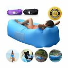 Compression Sacks Outdoor Inflatable Lounger Couch Air Sofa Blow Up Chair With