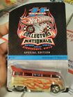 Hot Wheels 11th Annual Collectors Nationals Volkswagen Drag Bus 831 3500 bx1