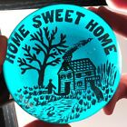 HUGE ANTIQUE Millville Motto HOME SWEET HOME Art Glass Paperweight Pre 1900