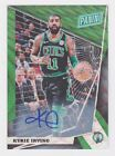 2018 Panini National VIP Gold Green Wave Refractor Auto #65 Kyrie Irving #'d 5 5