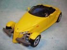 1 18 SCALE DIECAST 1999 PLYMOUTH PROWLER IN YELLOW BY MAISTO NO BOX