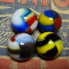 4 Marble King Rainbow Marbles NM+