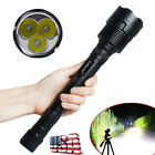 Powerful 50000Lumens 3x T6 LED 5 Modes Tactical Police Flashlight Aluminum Torch