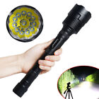Tactical Police 80000LM 12xT6 LED 18650 5Modes Hunting Flashlight Touch US STOCK