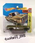 Hot Wheels 2014 Chevy Silverado Super Treasure Hunt VHTF Short Card