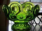 Large Green Moon and Star Serving Bowl *Heavy Duty*