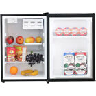2.4 cu. ft. Compact refrigerator with Reversible Door and Seperate Dorm Office