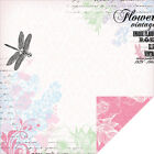 Lavender Haze Double Sided Paper 12X12 Wisteria 20 Pack