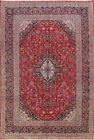 Grand Traditional Floral 10x13 Wool Kashan Persian Oriental Area Rug 13'1 x 9'7