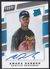Amara Darboh 2017 Panini Instant NFL Rookie Premiere Next Day Autographs #NNO