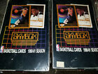 Lot of TWO boxes 1990-91 Skybox Basketball Wax Box Sealed