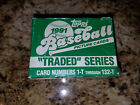 1991 Topps Traded Baseball Set   #1-132T  Jeff Bagwell