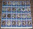 1972 Sunoco Football Stamp Sheet Los Angeles Rams Card 24dif New Player Update