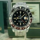 Vintage Rolex GMT Master 6542 Rare Dial Bakelite Full Set Double Papers Box 1959