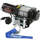 Bravex Portable 2000lbs 12V DC Electric Winch Truck SUV Steel Cable