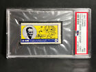 RARE 1962 1963 Topps Famous American TEST Issue Stamp #60 Lou Gehrig Yankees PSA