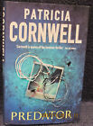 Cornwell Patricia Predator Signed First Edition