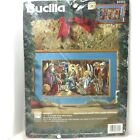Bucilla Nativity Picture 83323 Counted Cross Stitch Kit New Nancy Rossi