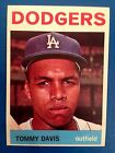 1964 Topps card #180 Tommy Davis, Dodgers