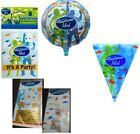 American Idol party supplies invitations, tablecloth, banner and balloons