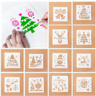 Christmas Layering Stencils Album Decor Paper Card Template For Walls Painting