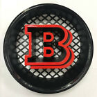 New Brabus Grille B Badge Emblem Decal For 85-14 Mercedes Benz W463 G63 G65 6x6
