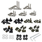 223PCS Stainless Steel Fairing Bolts Kit for Kawasaki KX250 KX450 KLR250 KLR650