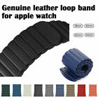 Leder Loop Armband Ersatzarmband Für Apple Watch Series 5/4/3/2/1 40/44/38/42mm