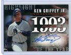 2015 Topps KEN GRIFFEY JR #18 25 Autograph Highlight of the Year 1993 Auto