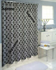 "new printed one side Best Supreeme Silver Logo size (60"" x 72"") shower curtain"