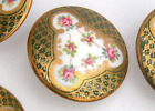 …WEDGWOOD...Back Marked…Intricate Design w Pink Rosebuds