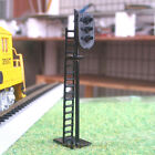 4 x HO Scale 3 aspects Railroad Signals 3 lights block signal LEDs made G Y R