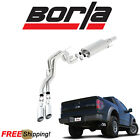 BORLA S Type Cat Back Performance Exhaust Kit 11 12 F150 Harley Davidson 62L V8