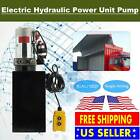 12 Quart Single Acting Hydraulic DC 12V Pump Dump Trailer Unit Metal Reservoir