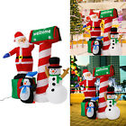 53 Inflatable Christmas Santa Clause Snowman LED Air Blown Xmas Party Outdoor