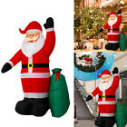 8 Inflatable Christmas Santa Clause Gift LED Air Blown Xmas Party Outdoor Decor