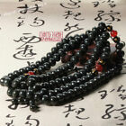 Pretty Chinese Hetian Gray Jade Hand Grinding Apple Buddha Beads Bracelet Bangle
