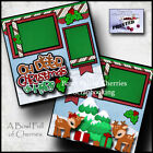 Disney DOLE WHIP 2 premade scrapbook pages layout paper piecing Cherry 0010