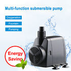 Submersible Water Pump for Aquarium Fish Tank Pool Powerhead Waterfall Fountain