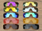 Vonxyz 20+ Color Choices IridiumCoat Replacement Lens for Oakley Batwolf Frame