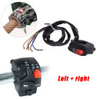 Button Switch Ignition Engine Stop Lamp Horn Light Fit for Honda Harley Bike ABS