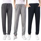 Women Cotton Harem Pants Sweatpants Jogger Sports Slim Fit Pants Trousers M L XL