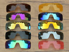 Vonxyz 20+ Color Choices IridiumCoat Replacement Lens for Oakley Oil Rig Frame