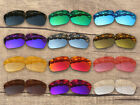 Vonxyz 20+ Color Choices IridiumCoat Replacement Lens for Oakley Sliver Frame