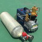 High Pressure Air Pump Electric PCP Air Compressor for Paintball Fill 38MPA 220V
