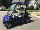 Tomberlin Emerge Street Legal Golf Cart Blue LSV NEV4 Seat with Title